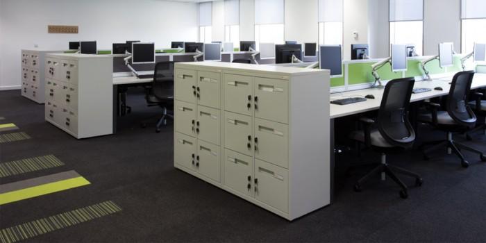 Office flooring from Burmatex