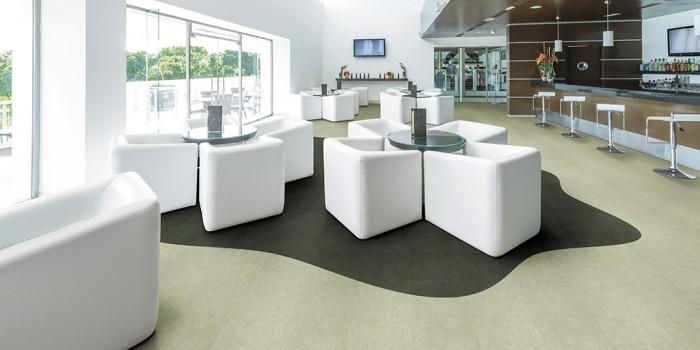 Commercial LG Hausys Luxury Vinyl Tile (LVT)