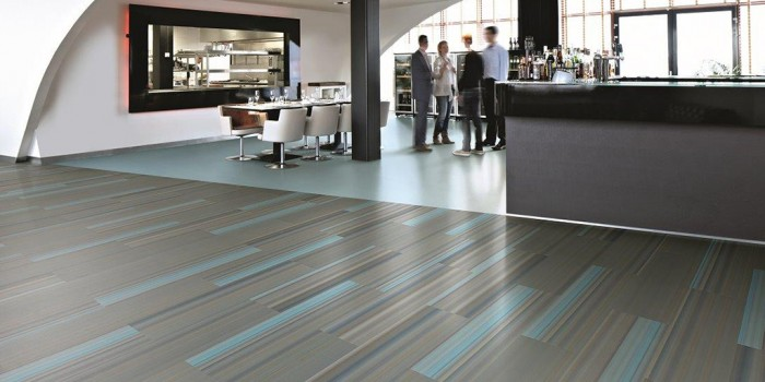 Commercial vinyl flooring Forbo