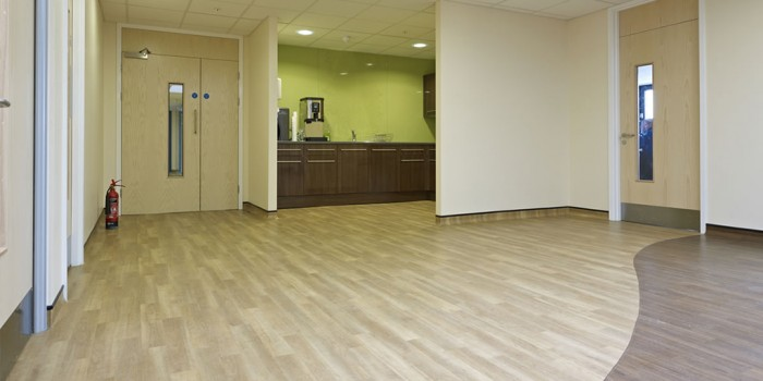 Healthcare flooring for GPs, hospitals and dentists